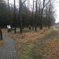 The place where Kaj Munk´s body was found 75 years after the murder