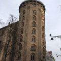 The Round Tower from the 1600s in centralCopenhagen