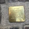 Here lived Thora Krogmann born 1867- Died1944