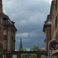 A view from a street in ChristianshavnCopenhagen