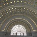 Archway of Union Station, Washington,D.C.