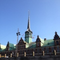 The Stock Exchange from the 1600s inCopenhagen