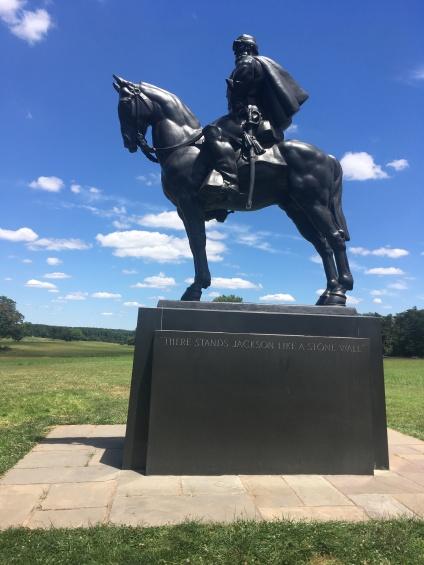 Equestrian on 'Stonewall* Jackson, Manassas, VA