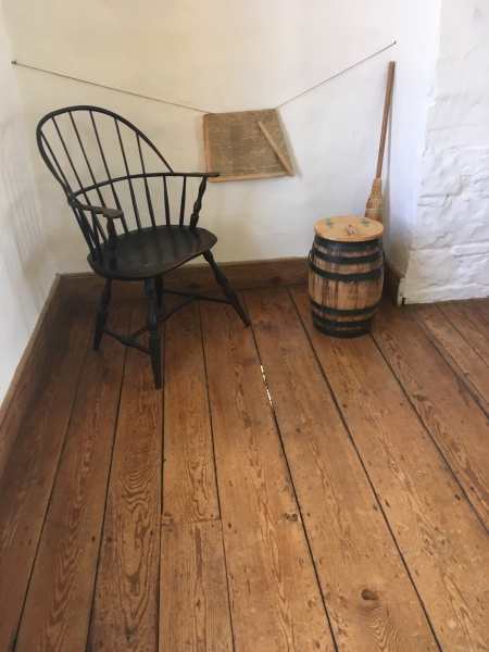 from the interior of Historic Stone House, Manassas, VA