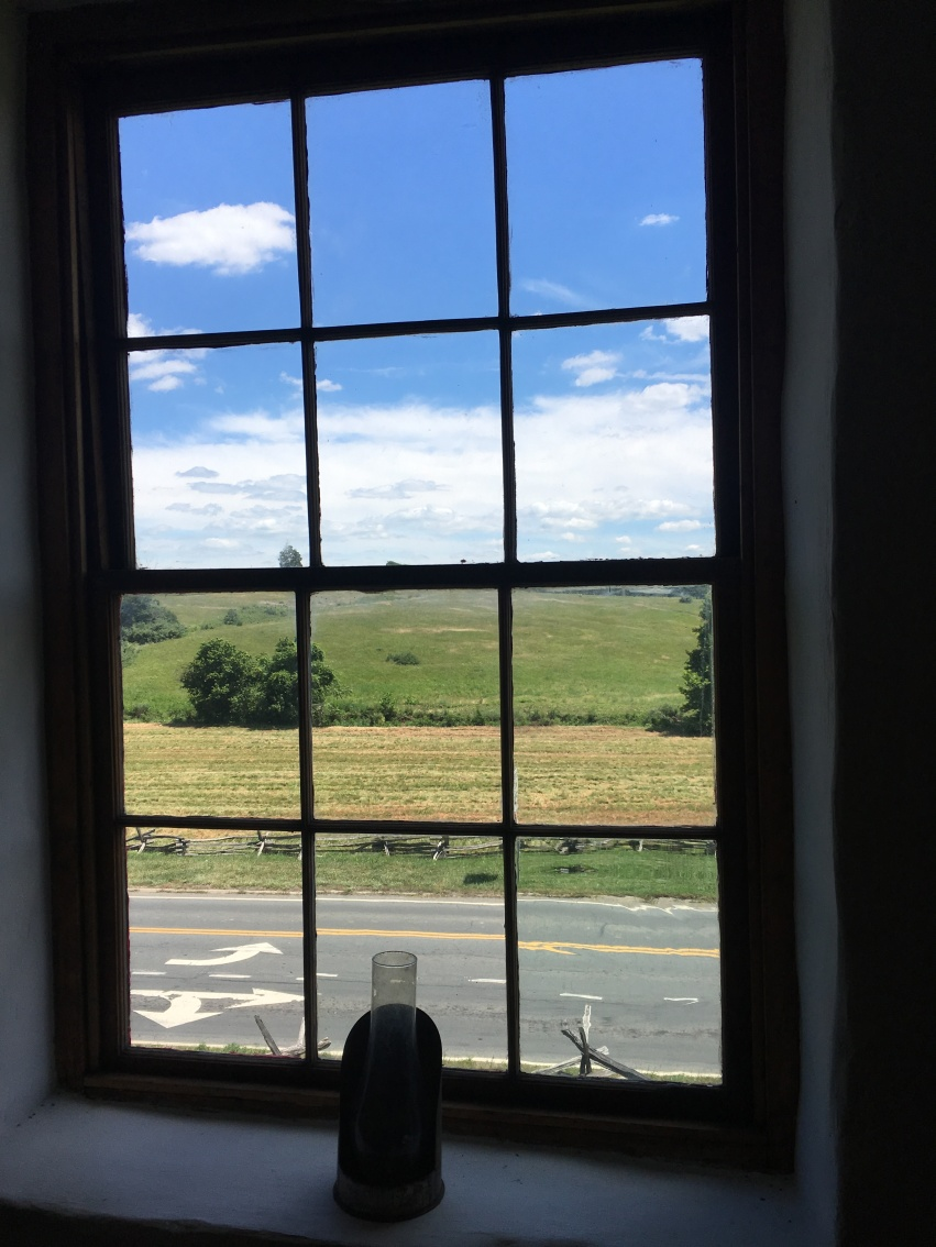 A view from the Historic Stone House at Manassas Battlefield