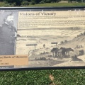 A display of the Second Battle ofManassas
