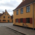 The Nyboder Houses from the 1600s in Copenhagen. The Navy's people livedthere
