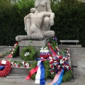The memorial for the fallen resistance fighters and victims who perished in the Concentrationcamps