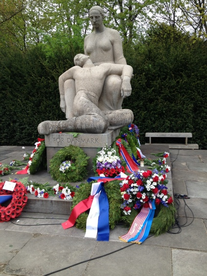 The memorial for the fallen resistance fighters and victims who perished in the Concentration camps