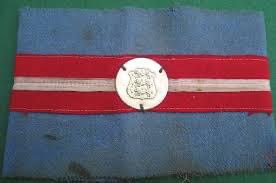 Instead of a uniform, the freedom fighters wore this blue armband on their arm in the days of liberation