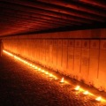 Candle lights for the dead freedom Fighters who perished in theHolocaust