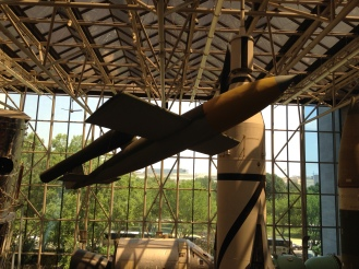 Smithsonian Air and Space Museum at the National Mall in Washington, D.C. A German V1 from WW2