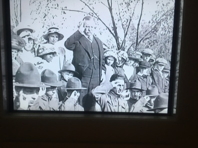 Teddy Roosevelt spoke on the campaign trail in 1911