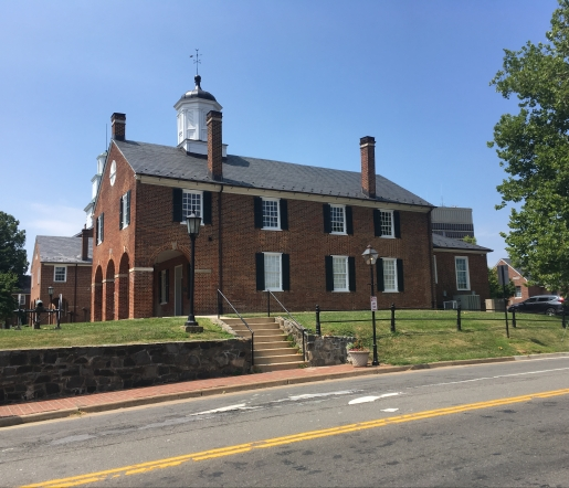 Fairfax Country Courthouse from 1799
