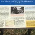 Civil War descriptions from the sight at the Fairfax CountyCourthouse