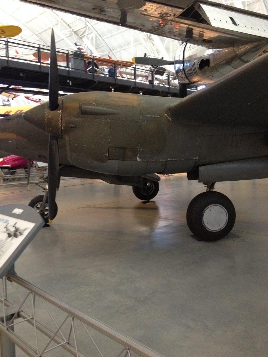 Lockheed P-38J Lightning. 1942-1945