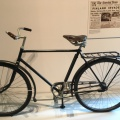 A young Finnish teenager escaped the Red Army in 1944 on his bicycle on display at themuseum