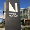 The entrance of the NordicMuseum