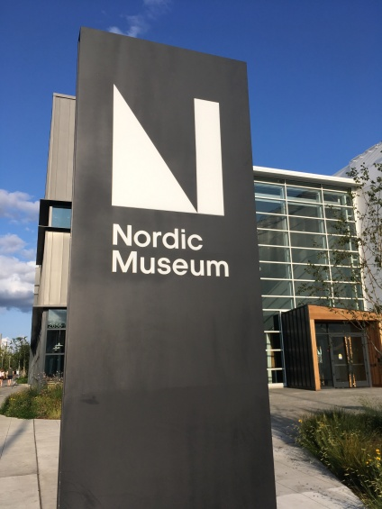 The entrance of the Nordic Museum