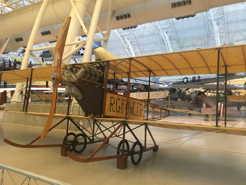 Fowler-Gage Biplane. Fowler flew the airplane on exhibition tours in 1912