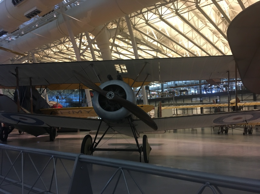 Sopwith F.1 Camel, a famous WWI aircraft