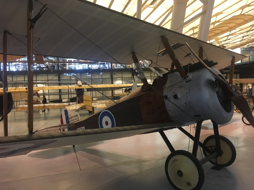 A Royal Air force aeroplane from WWI?