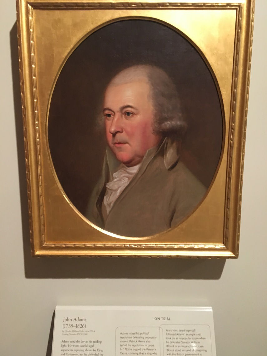 John Adams, Founding Father from Massachusetts. The nation's first Vice President and second President