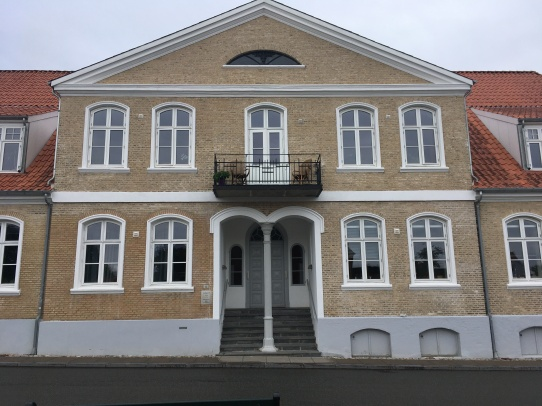 One of the fine buildings in Christiansfeld
