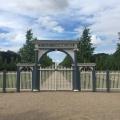 The same entrance to thegraveyard