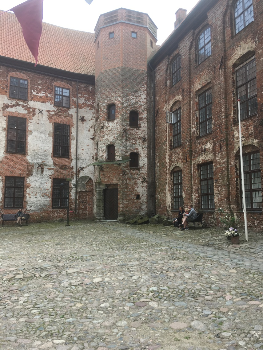 A view at Koldinghus' inner yard