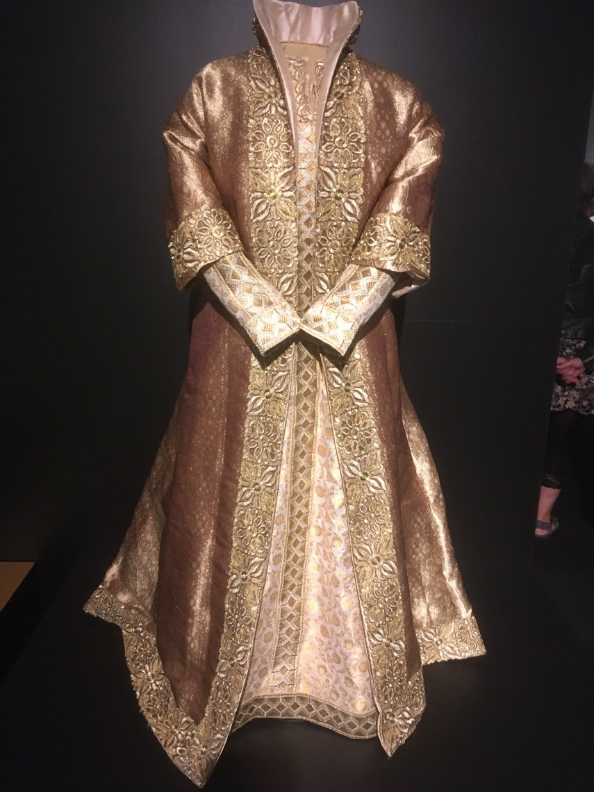 one of the royal gowns
