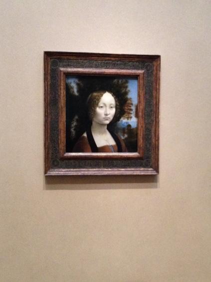Ginevra de' Benci, Leonardo Da Vinci, Florentine, 1452-1519