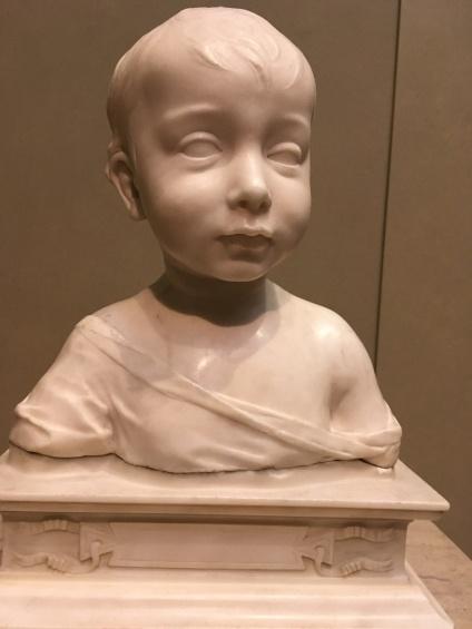 A Little Boy, c. 1460, Desiderio Da Settignano, Florentine, c. (1428-1464)