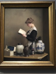 The House Maid, William McGregor Paxton, American, 1869-1941