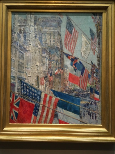Allies Day, May 1917 by Childe Hassam, American 1859-1935