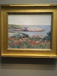 Poppies, isles of Shoals 1891, Childe Hassam, American, 1859-1935
