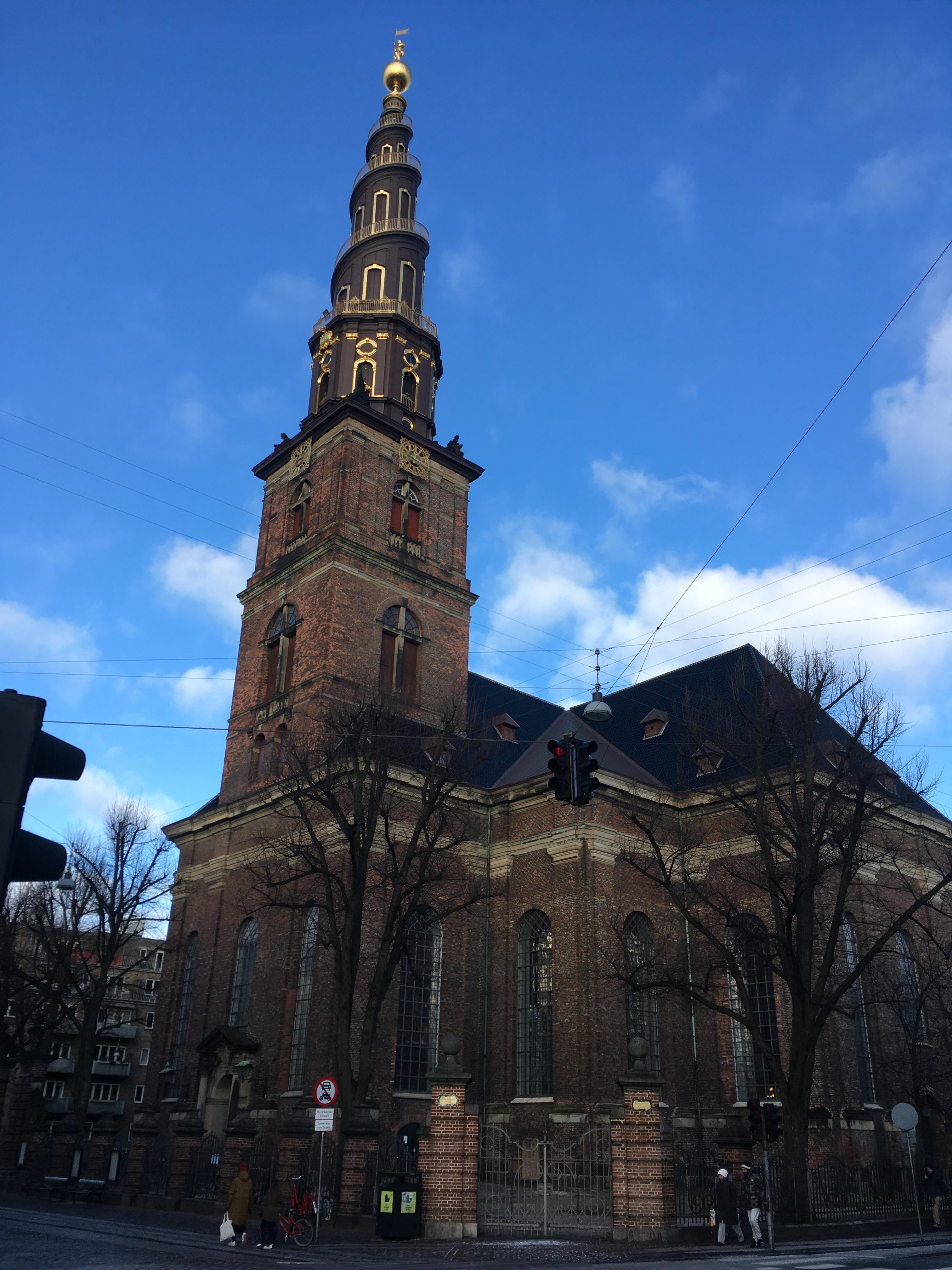 Our Savior's Church in Prinsesse Street, Copenhagen